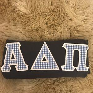 ADPi Stitched Letter Shirt
